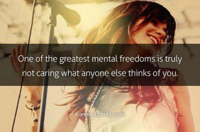 mental freedom