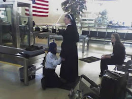 Nun being groped