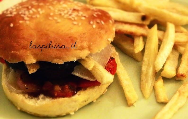 Panini per hamburger oppure hamburger buns