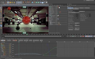 برنامج سينما فور دي CINEMA 4D تصميم 4D و 3D