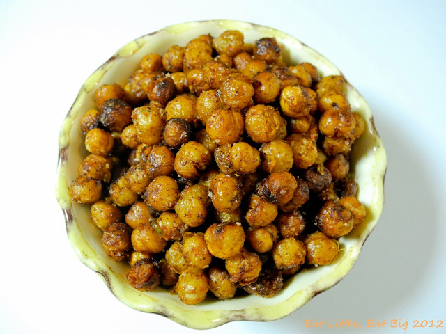 Recipe for Smoky Fried Chickpeas | Eat Little, Eat Big