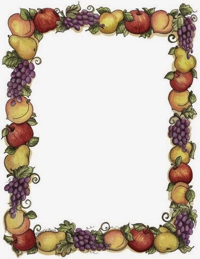 Fruits and Vegetables: Free Printable Invitations, Labels or Cards ...