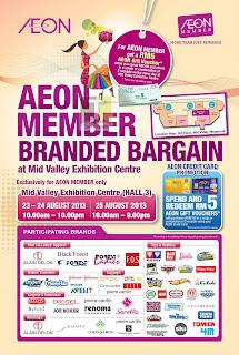 AEON Member Branded Bargain 2013