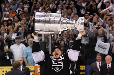 Dustin Brown stanley cup