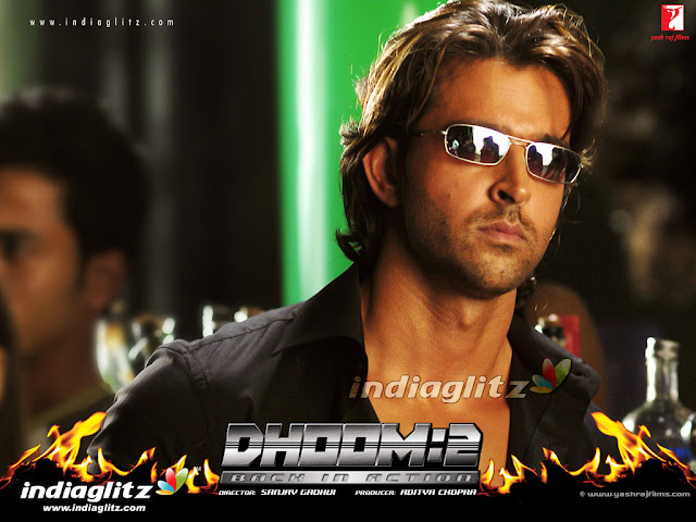 Hrithik Roshan in 'Dhoom 2' Movie
