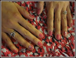 dior vernis nail polish in pink kimono