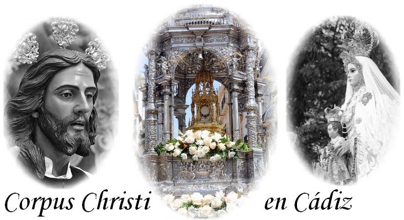 Corpus Christi en Cádiz