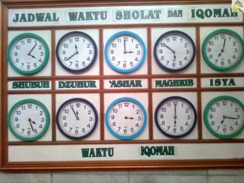 jadwal waktu sholat