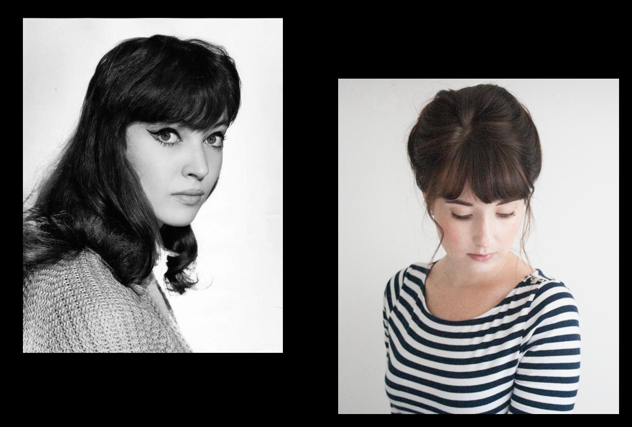 Anna Karina Hair Tutorial
