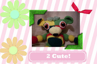 yarnie the funmigurumi moochie kanoochie crocheted bear pattern