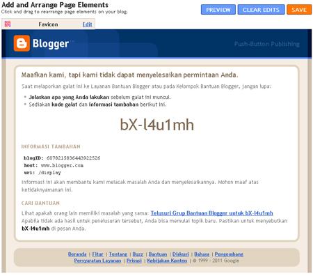 bX-l4u1mh Error pada Blogger - Blogspot