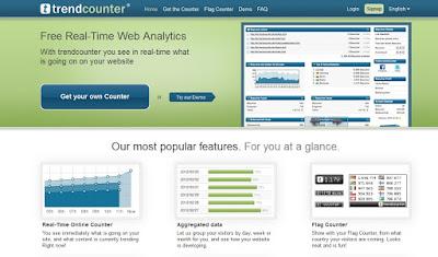 Trendcounter - Página Inicial