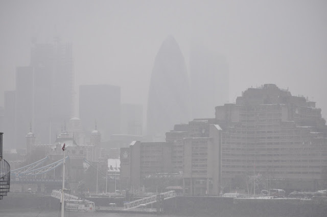 London Winter Skyline