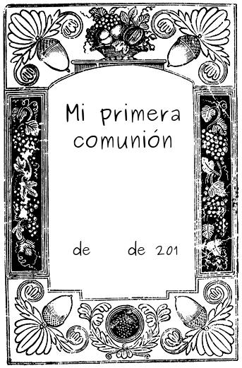 recordatorio de primera comunion para imprimir