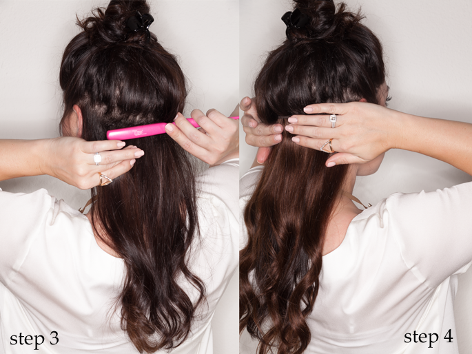 tutorial for clip in remy hair extensions, king and kind blog, envy my hair extensions