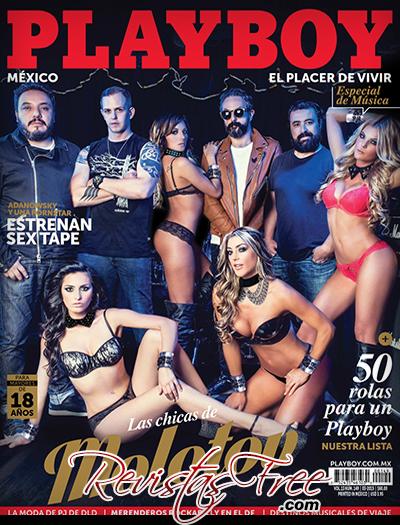 Las Chicas de Molotov - Playboy México - Março 2015