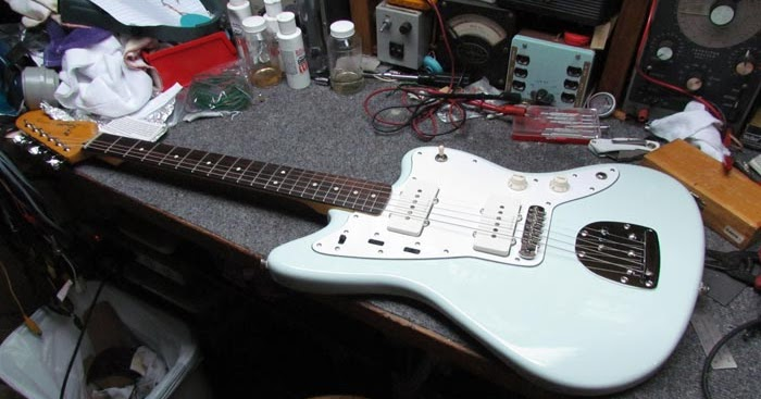 Squier Vintage Modified Jazzmaster Modifications  Pt  1
