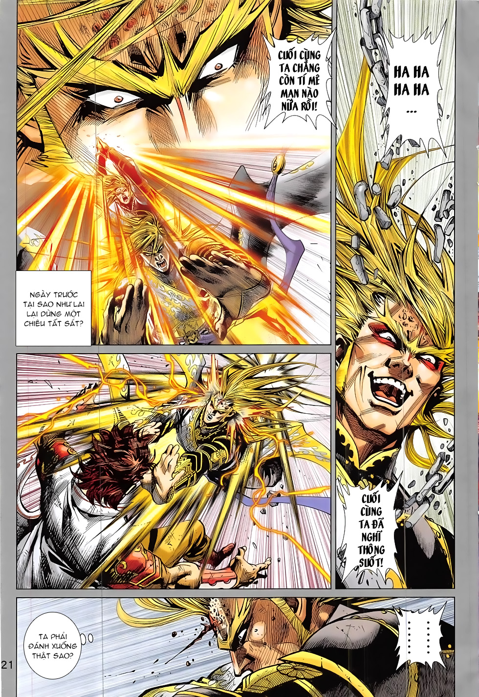 Thần Chưởng chap 24 – End Trang 21 - Mangak.info