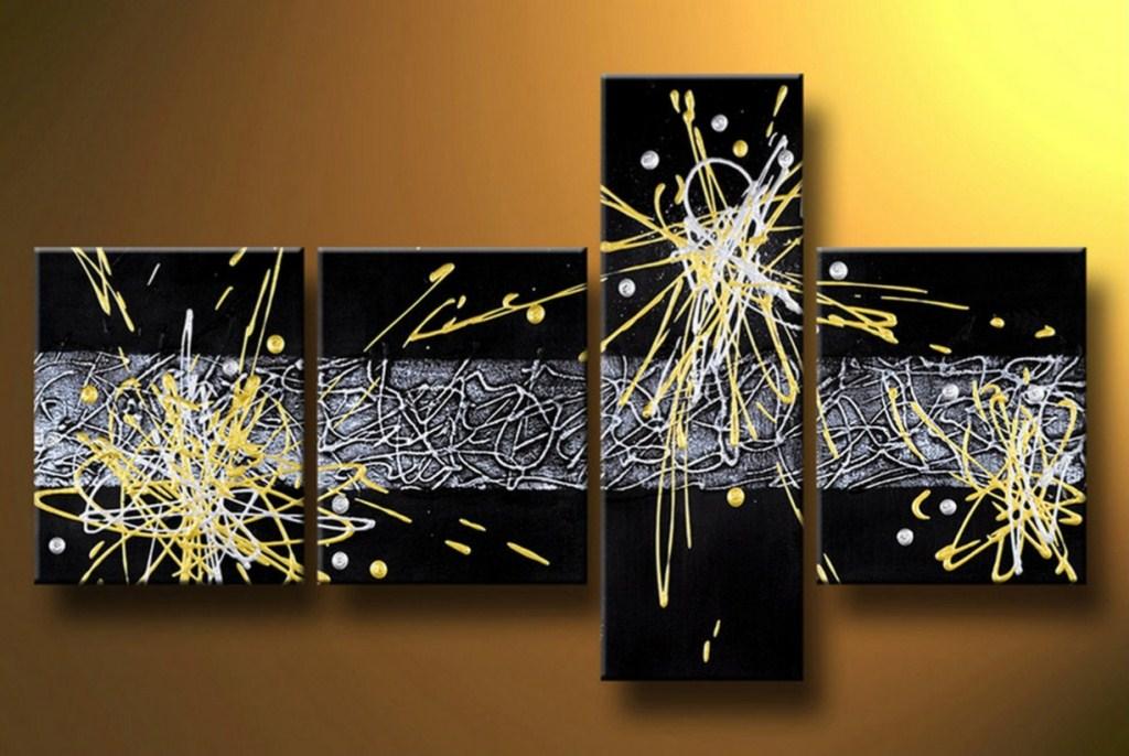 Im genes arte pinturas abstractos cuadros decorativos - Cuadros abstractos paso a paso ...