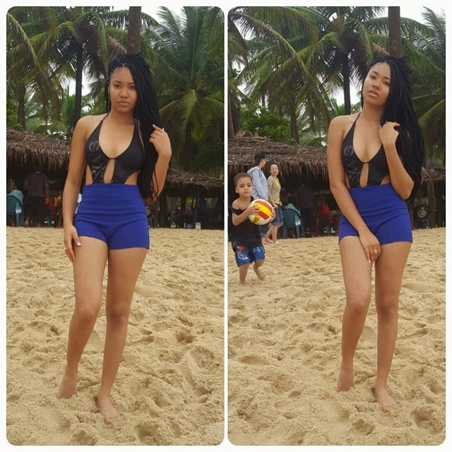MBGN 2013 Anna Ebiere's Amazing Beach Body