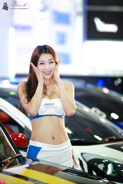 4 Ju Da Ha - Seoul Auto Salon 2012-Very cute asian girl - girlcute4u.blogspot.com