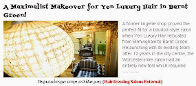 A Maximalist Makeover for Yen Luxury Hair in Barnt Green!