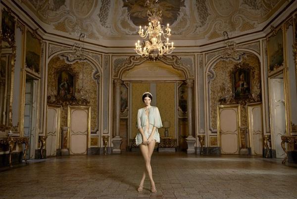la perla, spring 2013, lingerie, catania, barocco