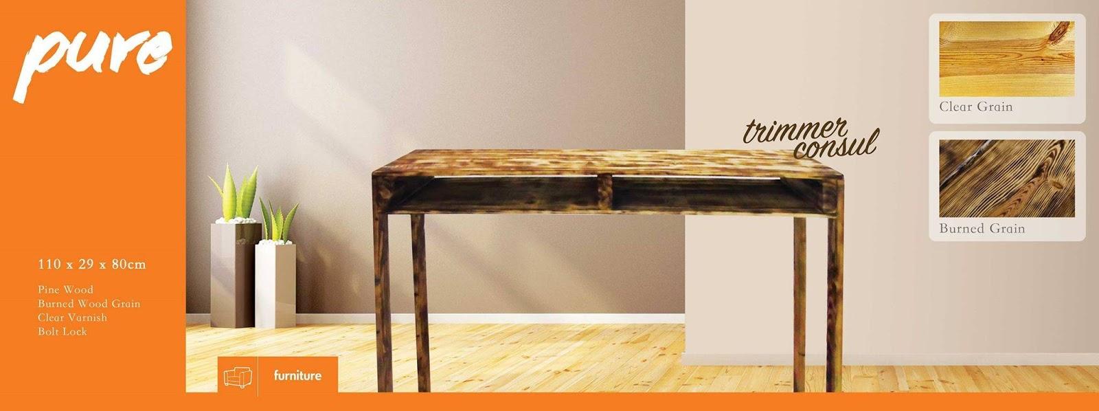 memilih furniture bergaya industrial desain rumah minimalis