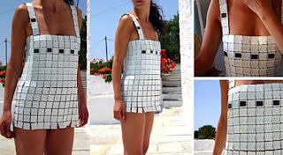 solar battery, dress