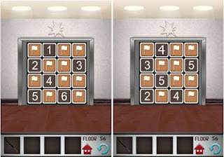 Answers 100 Floors Level 56-57
