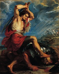 LE COMBAT DE DAVID CONTRE GOLIATH
