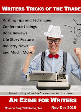 NOV-DEC  ISSUE WRITERS TRICKS OF THE TRADE EZINE