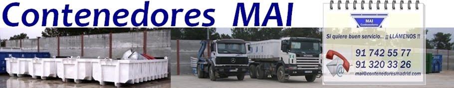 MAI, Contenedores  en Madrid