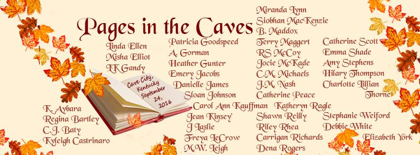 Pages in the Caves Ticket Link