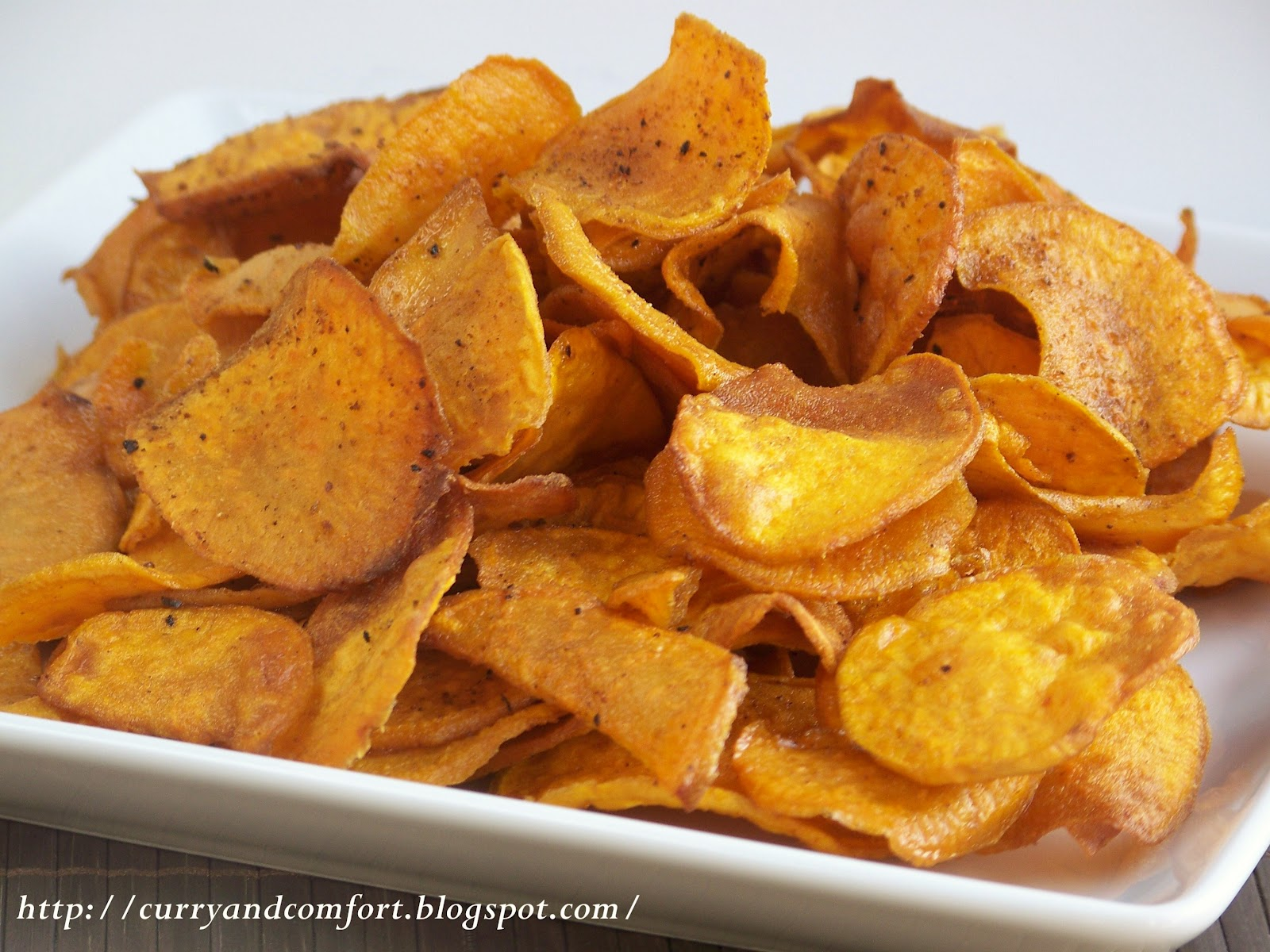 Curry and Comfort: Spicy Sweet Potato Chips
