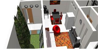 Gambar desain rumah halaman belakang