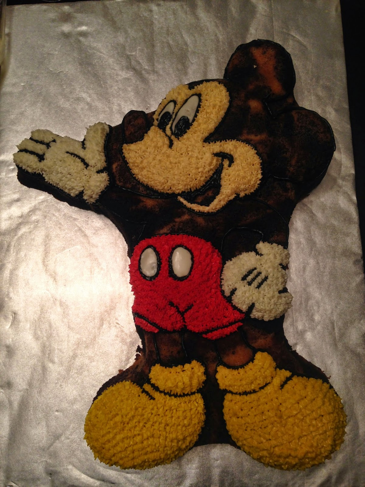 Joyce Gourmet Mickey Mouse Holding Balloons For A 1st