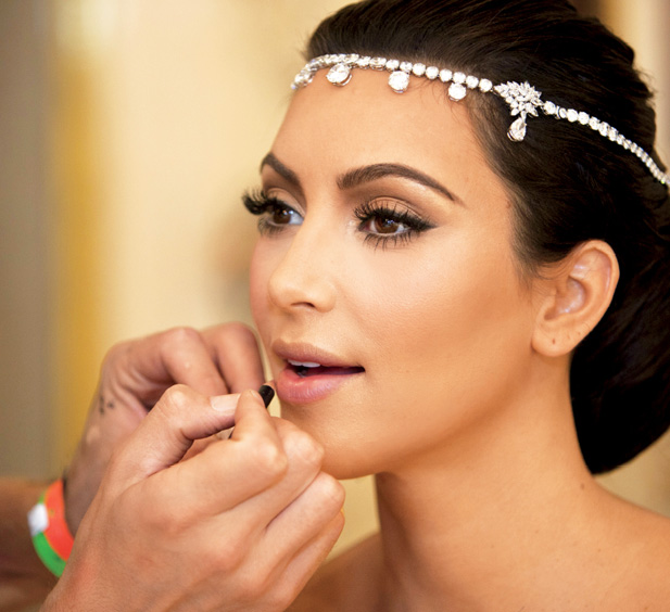 Making Your Own Wedding Makeup : miss.makeup.addict: Kim Kardashian Wedding Makeup - List ...
