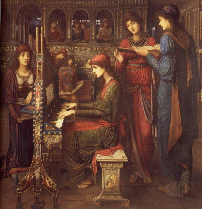 John Melhuish Strudwick evening song