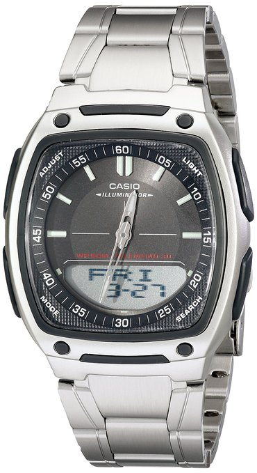 Casio Men's AW81D-1AV Ana-Digi 10-Year Battery Watch