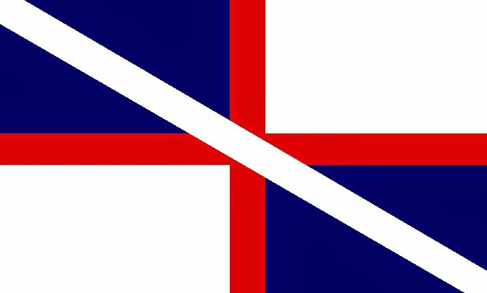 The Voice Of Vexillology Flags Heraldry Scotland England Equal