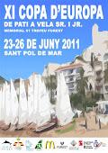 Cartell XI Copa d'Europa de Patí a Vela