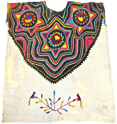 Mexican Embroidered Huipil