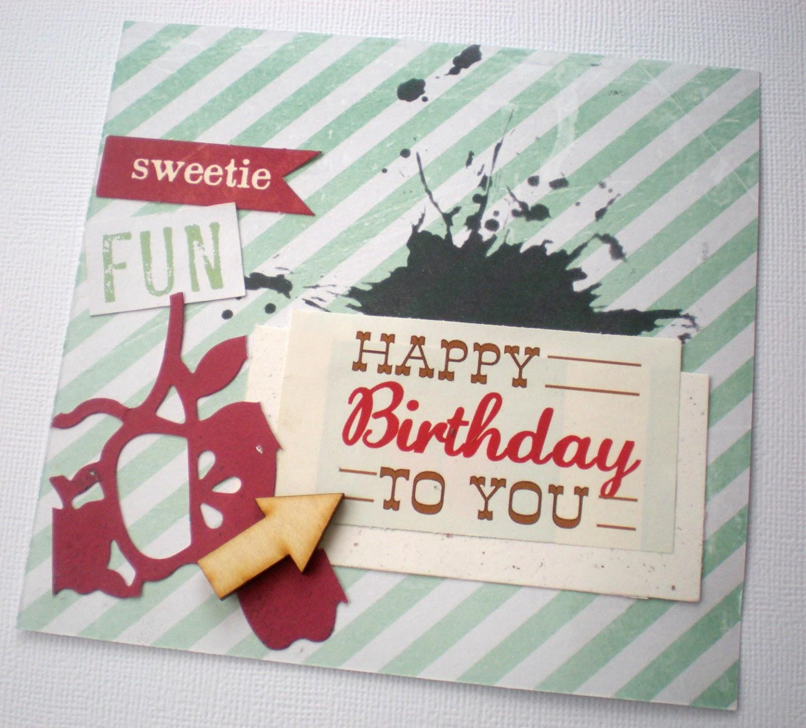 Tarjeta Feliz Cumpleaños - Happy Birthday Card