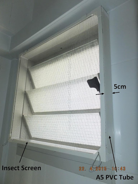 Diy magnetic insect screen singapore install insect for Window insect screen