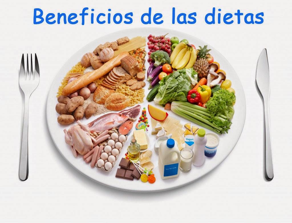 BENEFICIOS DE LAS DIETAS