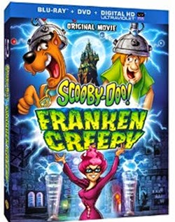 Enter the Scooby-Doo! Franken Creepy Blu-Ray/DVD Giveaway . Ends 8/30