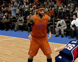 Download NBA 2K13 Knicks Christmas Jersey Patch