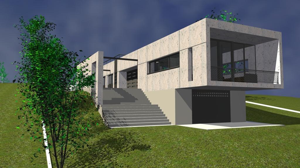 Arquitectura arquidea casa minimalista en barcelona for Proyectos minimalistas