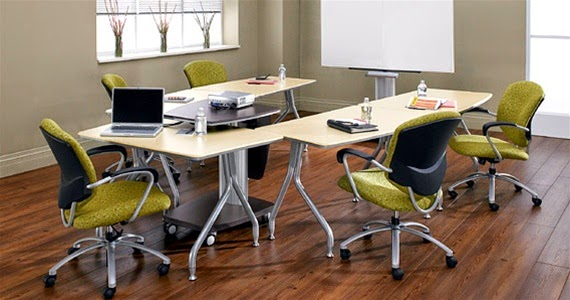 Talk About Chair - Conference table setup